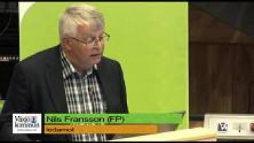 Budget 2013: Nils Fransson, Folkpartiet