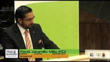Budget 2013: René Jaramillo, Kristdemokraterna