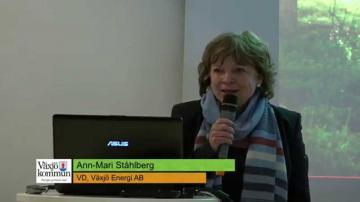 Årsstämma med Växjös kommunala bolag 2015: Växjö Energi