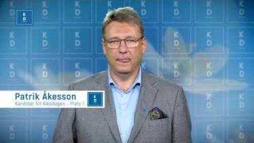 VAL 2018 - Patrik Åkesson  - Kristdemokraterna