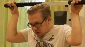 Funktionsnedsättning i vardagen - en serie av Felix Elmgren