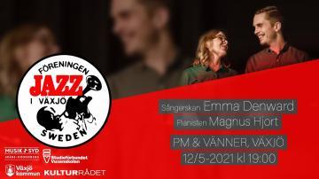 Jazz i Växjö: Duon Emma Denward och Magnus Hjorth