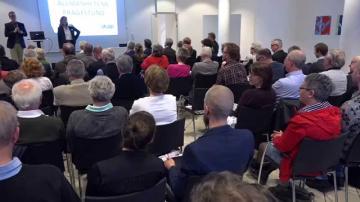 Årsstämma med Växjös kommunala bolag 2015: Frågestund & avslutning