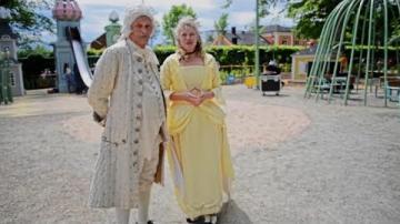 Invigning av temalekplatsen Linnés värld