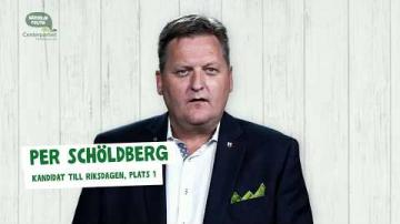 Val 2018 - En presentation av Per Schöldberg (C)