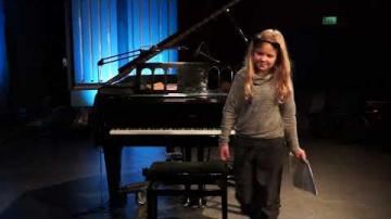 Marly Azevedo Andersson Konsert m elever Palladium Kulturnatten 27 Jan 2018