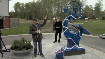 ÖKV Play: Nytt konstverk invigt i Rottne