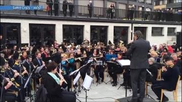 Holländsk blåsorkester besöker Småland, ur Veckomagasinet S2A17