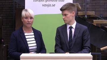 Moderaterna i Växjö kommun: Eftersnack med Anna Tenje & Oliver Rosengren