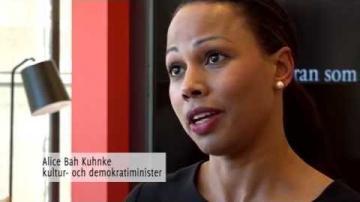 Avdi Islami intervjuar Alice Bah Kuhnke