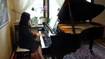 Piano Marly Azevedo Andersson Jul Pärlor Potpurri 110