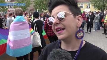 Växjö Prideparad 2016, ur Veckomagsinet S2A18