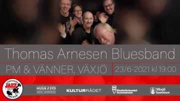 Jazz i Växjö: Thomas Arnesen bluesband