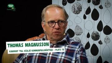 Val 2018 - Intervju med Thomas Magnusson (C)