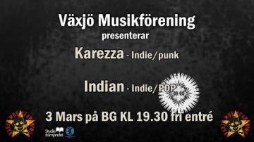 Konsert/BG Karezza och Indian