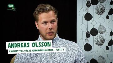 Val 2018 - Intervju med Andreas Olsson (C)