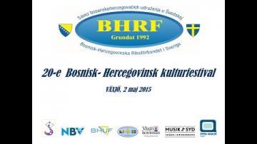 Bosnisk-Hercegovinsk Kulturfestival 2015 - Tävling - Yngre Juniorer