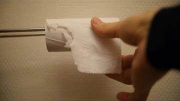 Vad gör du när toapappret är slut?