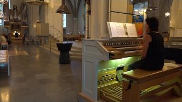 Lunchmusik i Växjö domkyrka med kyrkans organister