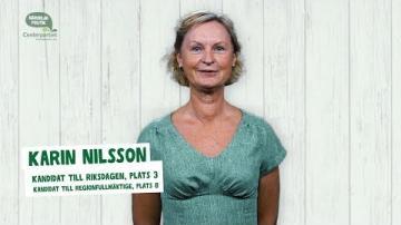 Val 2018 - En presentation av Karin Nilsson (C)