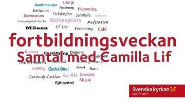 Fortbildningsveckan 2018 - Samtal med Camilla Lif