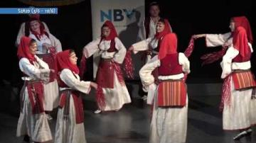Albansk folkdanstävling, ur Veckomagasinet S2A20