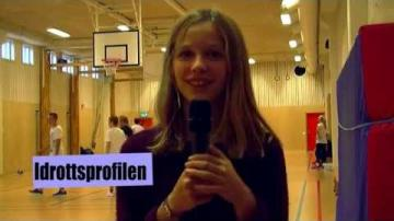 Reportage om idrottsprofilen